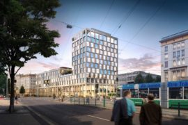 Verwaltungsgebäude Blauer Bock Magdeburg