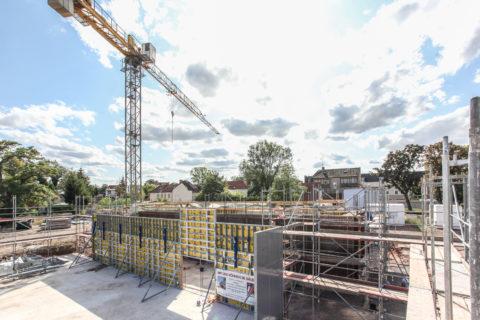 Neubau Gebäudekomplex Bibliothek Staßfurt