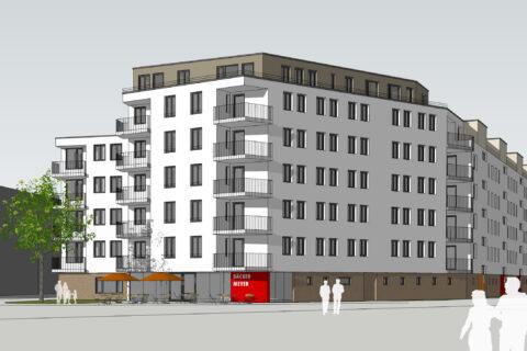 Neubau Wohnbebauung Wittenberger Platz, Magdeburg