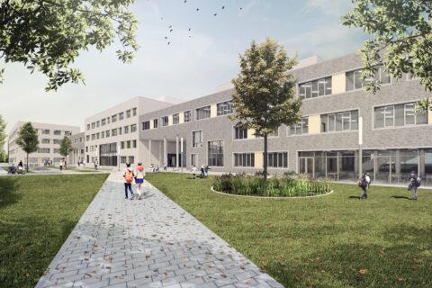 Neubau Erich Kästner-Schulzentrum Laatzen