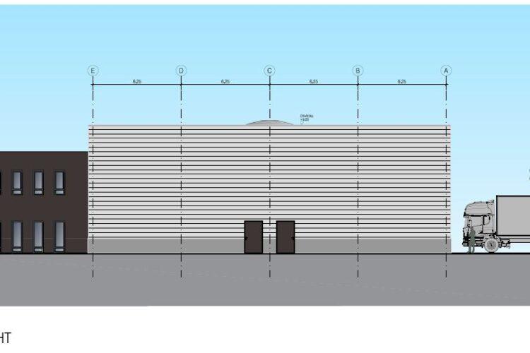 Neubau Werkstatt in Langenhagen